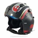 XPH modified Star Wars painted flight helmet