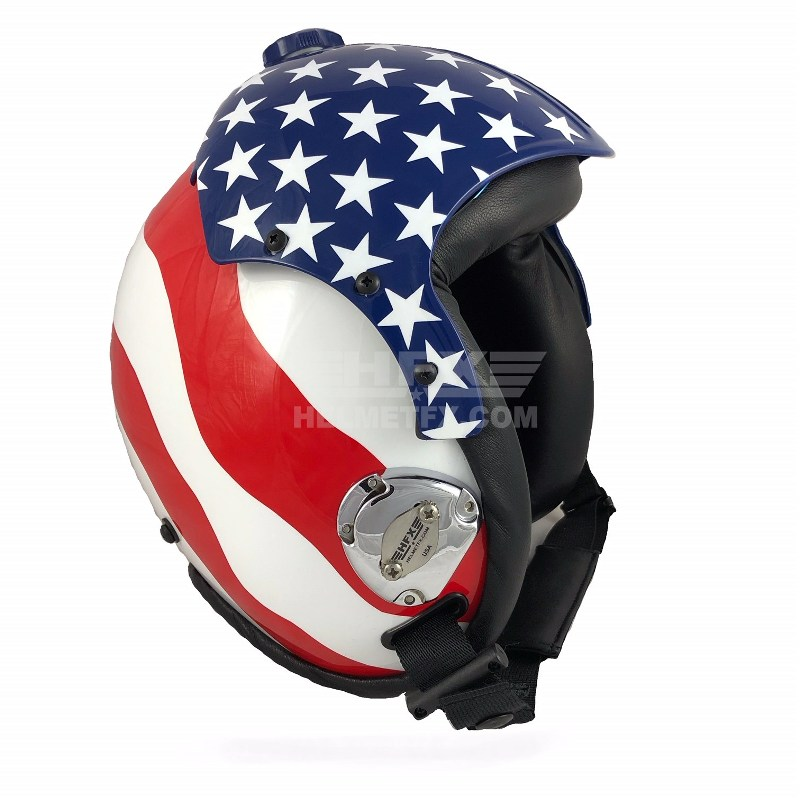 HGU custom painted flight helmet