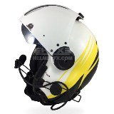 Malo custom painted flight helmet