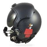 Snoopy custom painted flight helmet