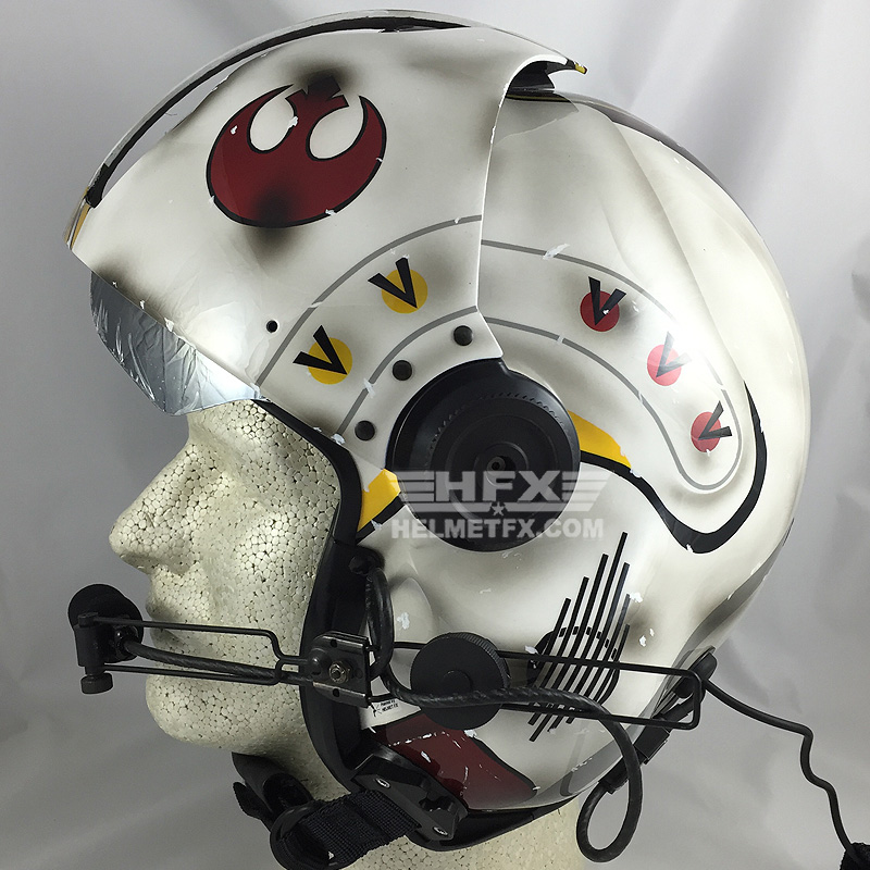 Star Wars custom painted flight helmet 1
