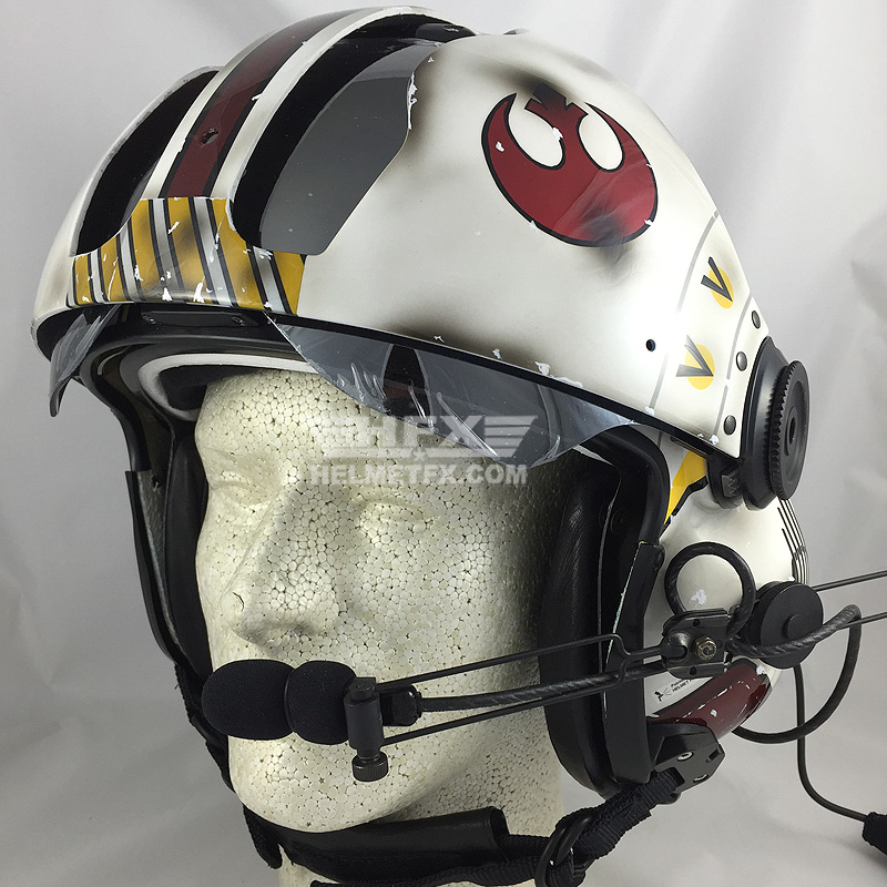Star Wars custom painted flight helmet 2