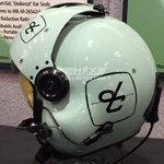 David Clark custom painted flight helmet 1