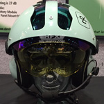 David Clark custom painted flight helmet 2