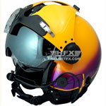 Midwest Medair custom painted flight helmet