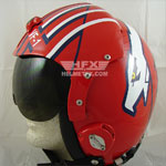 Iceman Goose custom painted flight helmet 3