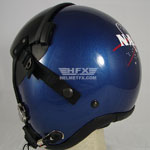 NASA custom painted flight helmet 2