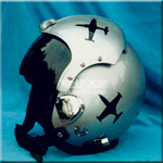 T33 custom painted flight helmet