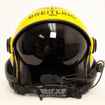 Breitling custom painted flight helmet 2