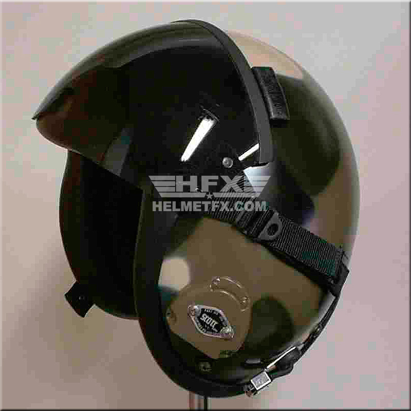WPE custom painted flight helmet 2