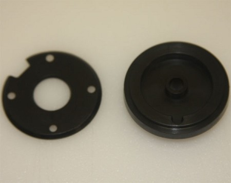 Outer Visor Return System Bushing and Back Plate