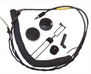 High Impedance Helicopter Comm Set - MSA Gallet